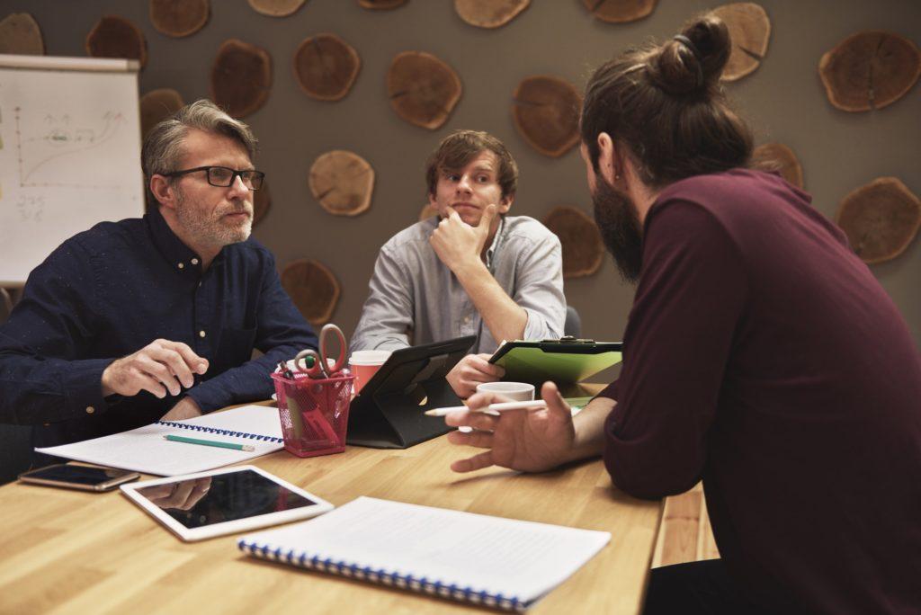 Brainstorming zur Unternehmensgründung